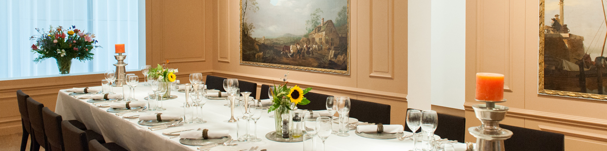 Zaalverhuur | Art & Dining in Dordrecht | Museum restaurant